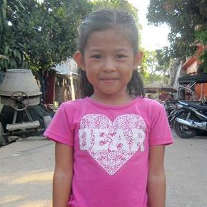 Six year old Maria Carla loves pink and wants to be a doctor some day! With your help, she can achieve her goals.