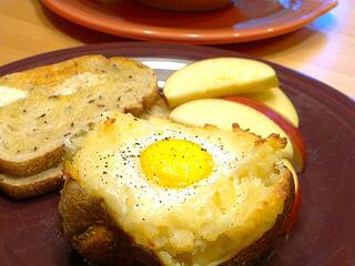 Potato Eggs