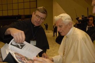 Pope Benedict Fr John Presentation