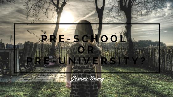 Preschool or Preuniversity (2)