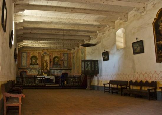 Mission La Purísima Concepción Interior