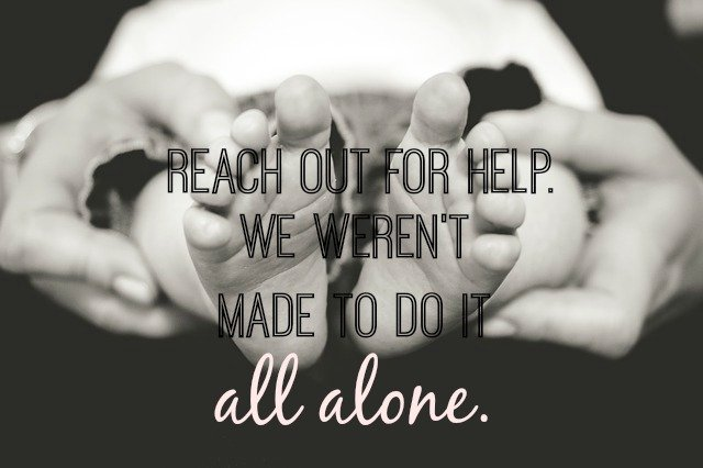 Reach out for help