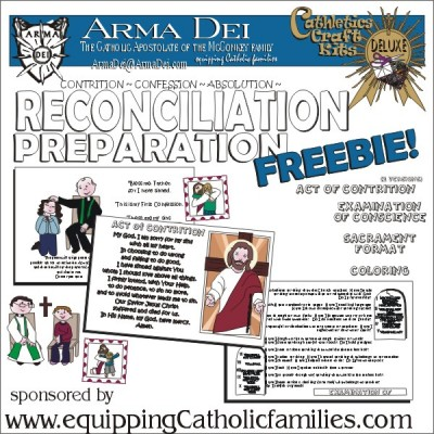 Reconciliation Prep Freebie