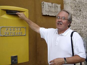 Ron Teachworth at the Vatican