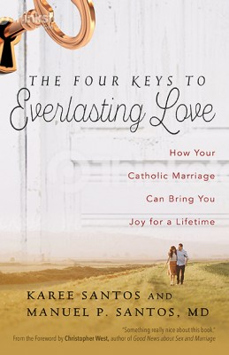 Rough draft of The Four Keys to Everlasting Love cover
