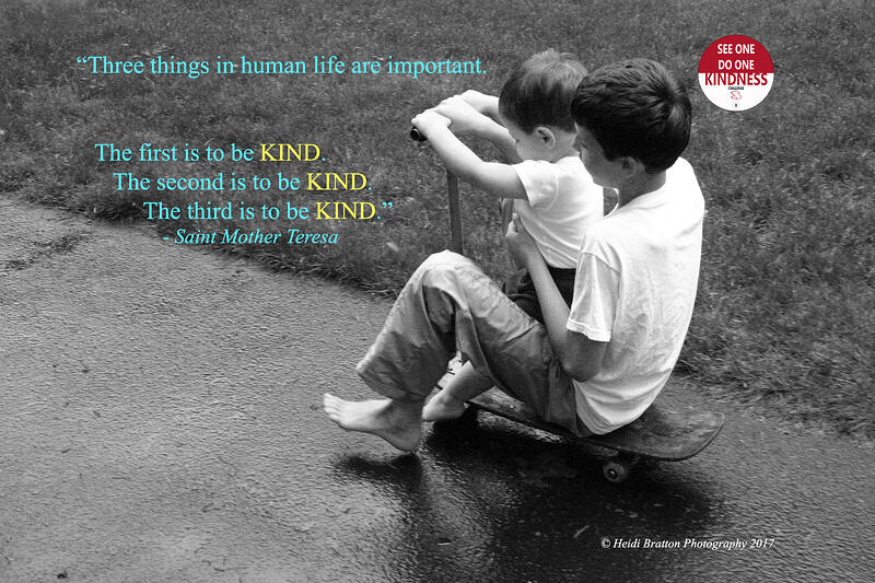 """Little Touches of Kindness"" by Heidi Bratton (CatholicMom.com)"