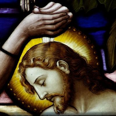 Saint_Leo_Catholic_Church_(Columbus,_Ohio)_-_stained_glass,_loft,_Baptism_of_the_Lord,_detail
