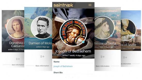 Saint Biographies (photo courtesy Saintnook)