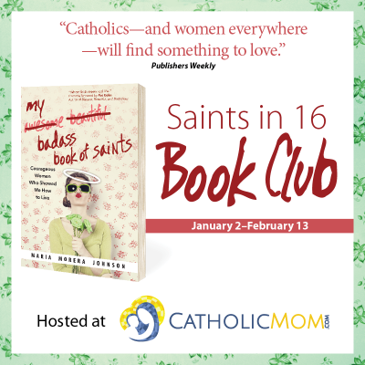Saints in 16 Book Club sq