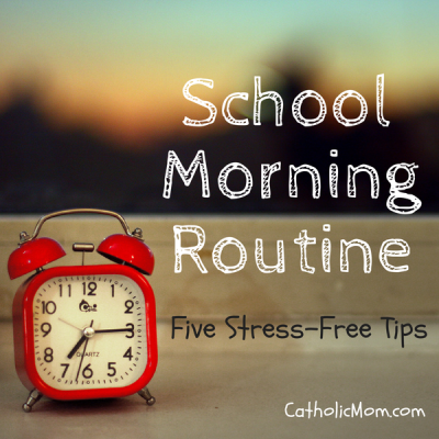 Morning Routines for School