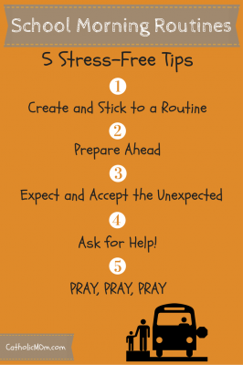 5 Stress-Free Tips for School Morning Routines