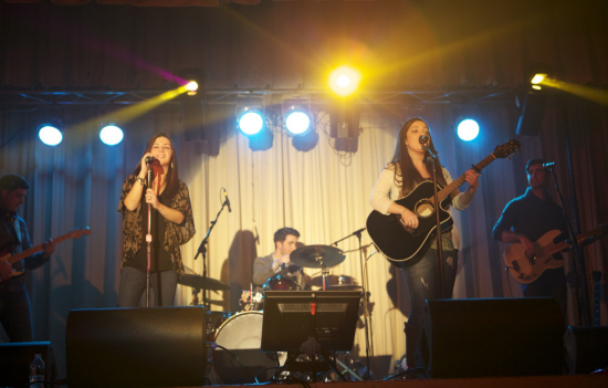 The Costa Crew performs at Array of Hope