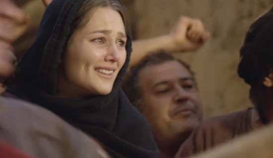 "Alissa Jung as Mary in ""Mary of Nazareth"""