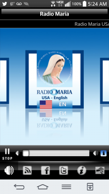 Radio Maria app for Android