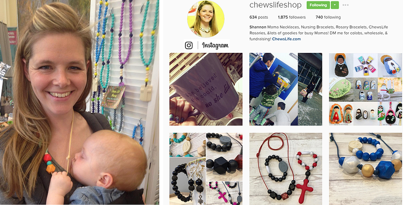 """""""Small Business Strategies: Selling on Instagram"""" by Jen Frost (CatholicMom.com)"""