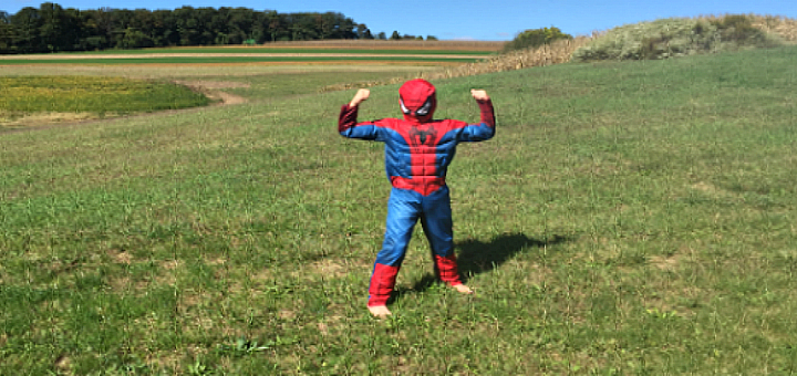 """""""Superhero Powers Needed for Mass--when you're 7"""" by Kelly Guest (CatholicMom.com)"""