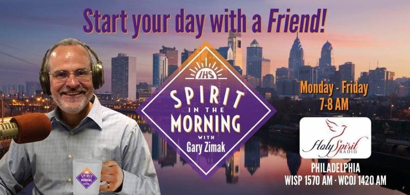 """""""Tech Talk: Spirit in the Morning Radio with Gary Zimak"""" by Barb Szyszkiewicz (CatholicMom.com)"""