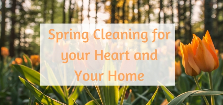 """Spring Cleaning for your Heart and your Home"" by Hannah Christensen (CatholicMom.com)"