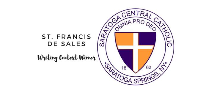 St. Francis deSales Writing Contest (Kate Towne for CatholicMom.com)