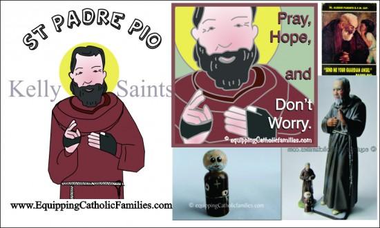 St Padre Pio Feast Day Fun