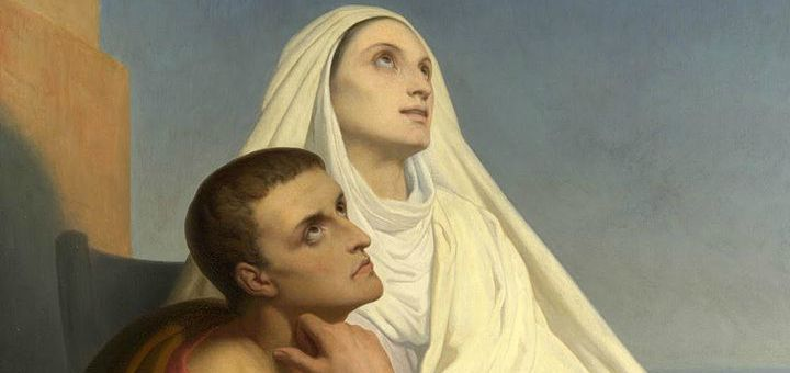 St. Monica and Augustine
