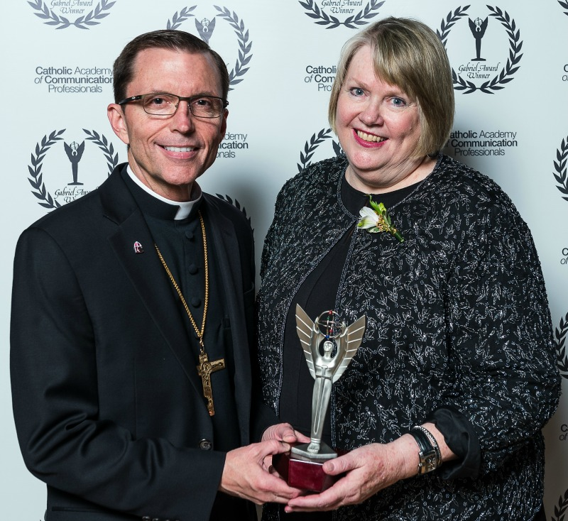 """""""Gabriel Awards given to communicators for media that shows 'true' humanity"""" (CatholicMom.com)"""