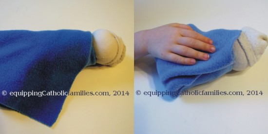 Swaddling Sock Baby Jesus