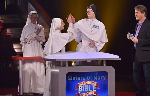 Team Sisters of Mary in The American Bible Challenge
