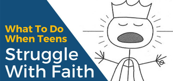 """What to do when teens struggle with faith"" by Marc Cardaronella (CatholicMom.com)"