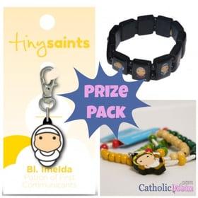 Tiny Saints prize pack