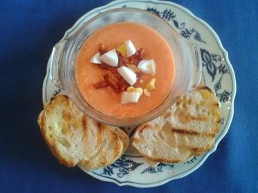 Tomato Soup and Brie Sandwiches Menu pic