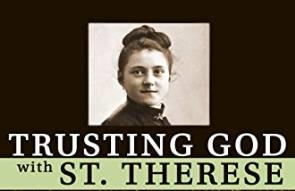 Trusting in God with St. Therese book cover cropped horizontal