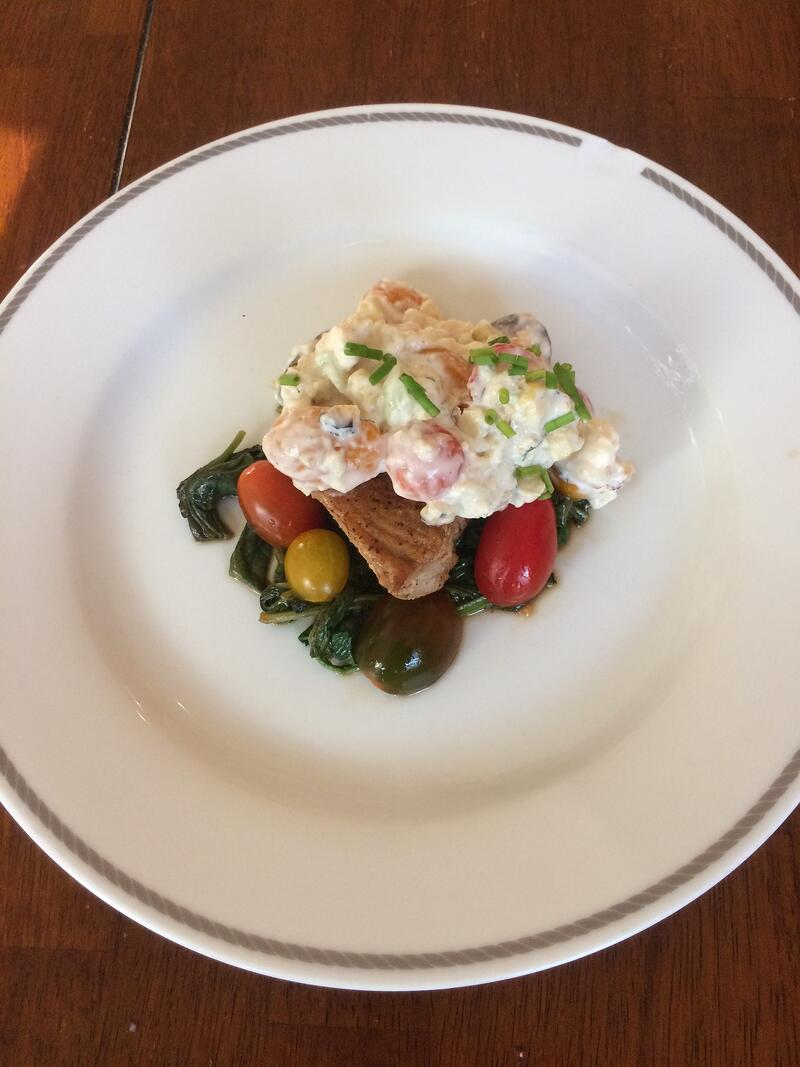 """Meatless Friday: Tuna with Tzatziki Salad"" by Karen Ullo (CatholicMom.com)"