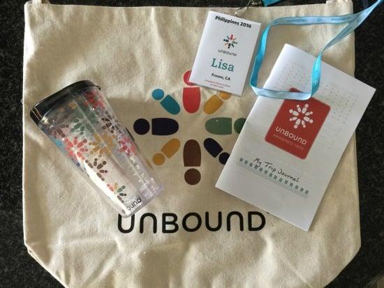 Unbound Philippines Bag