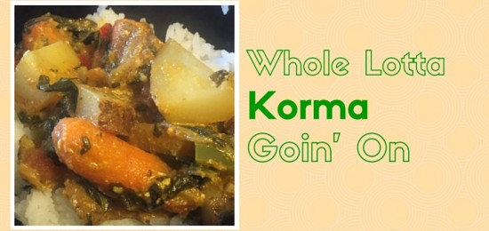 Veggie Korma: Indian-inspired Grub for a Meatless Friday Crowd from CatholicMom.com