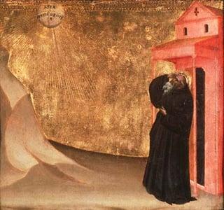 Vision of St. Benedict