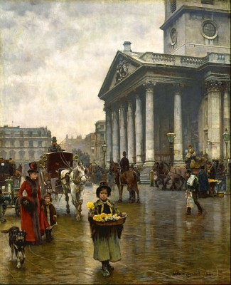 St. Martin in the Fields, by William Logsdail, 1888.