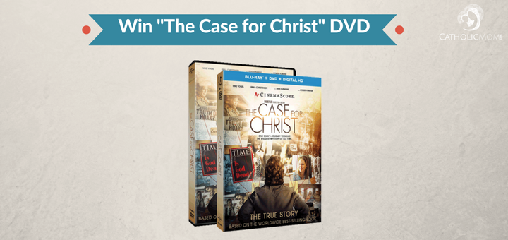 Win The Case for Christ DVD 3 winners (CatholicMom.com)