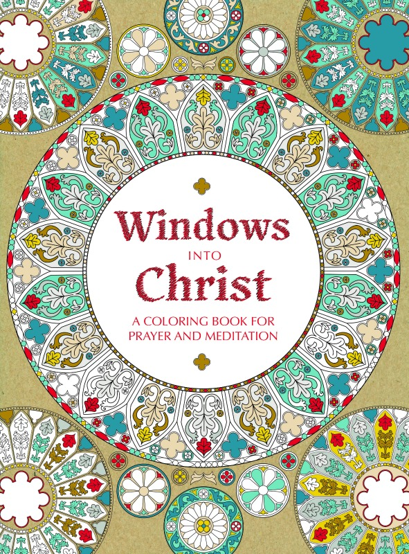 """""""Windows into Christ"""" coloring book from Pauline Books & Media"""