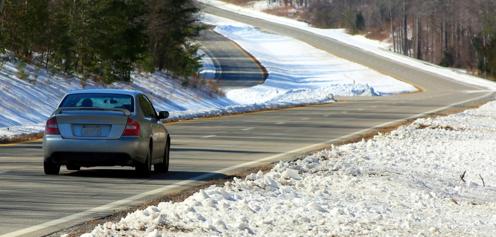 "Dodgerton Skillhause, ""Winter Drive"" (2015) via Morguefile."