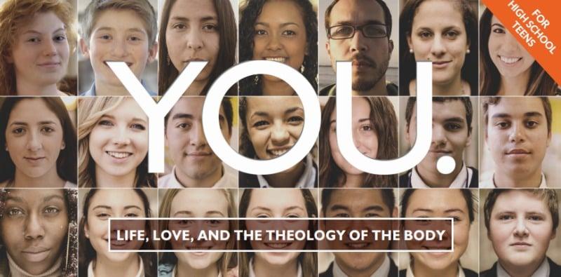 """YOU theology of the body study program for teens"" review by Barb Szyszkiewicz (CatholicMom.com)"