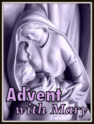advent with mary