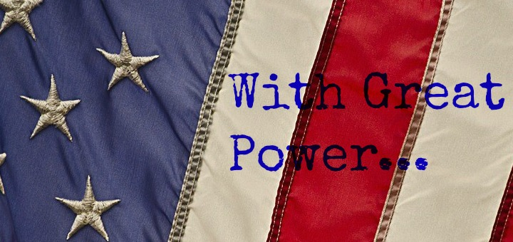 """""""With great power..."""" by Laura Nelson (CatholicMom.com)"""