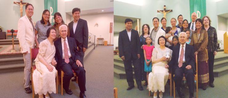 Laraya-Cuasay 50th Anniversary, Three Generations