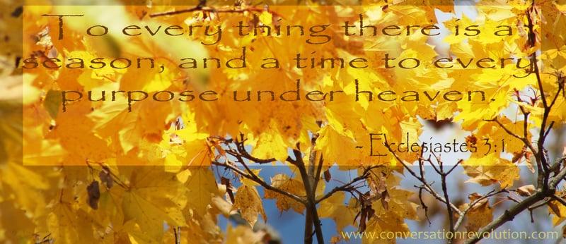 """Autumn Transitions"" by De Yarrison (CatholicMom.com)"