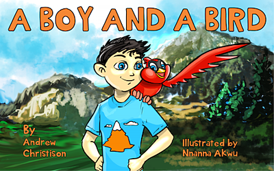 boy and bird