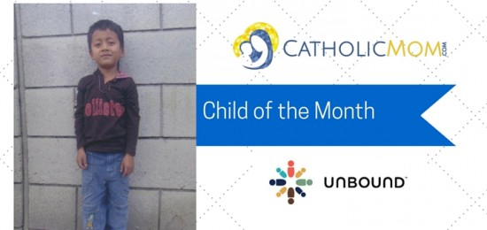 Meet Bryan, our  Unbound child of the month for October
