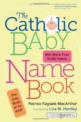 catholic baby name book