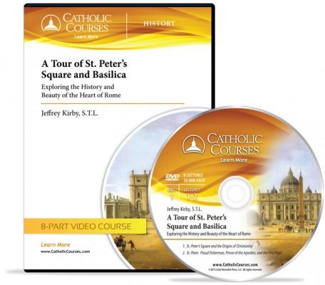 catholic courses tour of st peter