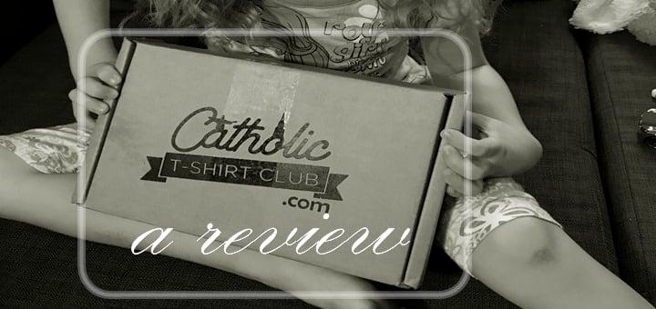 """""""Catholic T-Shirt Kid's Box: A Mom's Review"""" by Kate Taliaferro (CatholicMom.com)"""